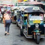 タイの交通費と交通事情とモータサイ