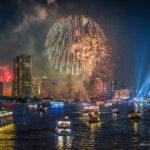 バンコクで年越し花火を見る 世界の花火大会